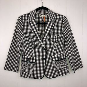 Taikonhu Anthro Gingham Plaid Blazer 8